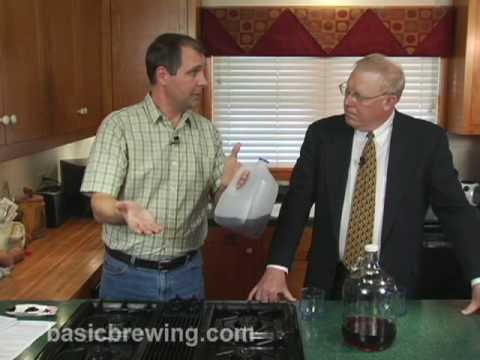 Basic Brewing Video – Barleywine Ice Beer – February 20, 2009