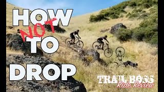 Video HOW TO DO DROPS ON YOUR MTB   Trail Boss Ride Review MP3, 3GP, MP4, WEBM, AVI, FLV September 2019