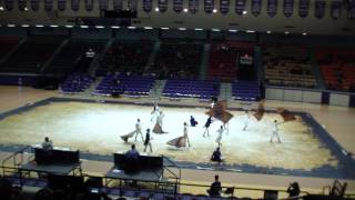 """Alexander Hamilton"" performed by the Alvarado High School Junior Varsity Color Guard at Northwestern State University on ..."