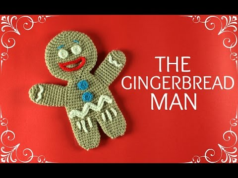 How to crochet the Gingerbread Man | World Of Amigurumi