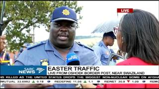 The Transport Department has asked motorists to exercise caution when travelling during the Easter weekend. For more on the Easter traffic we cross to our re...