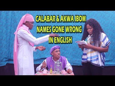 CALABAR & AKWA IBOM NAMES GONE WRONG IN ENGLISH (PRAYER HOUSE ) (Ufok Akam Episode 52)