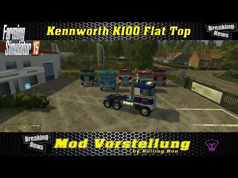 KENWORTH K100 Flat Top v1.0