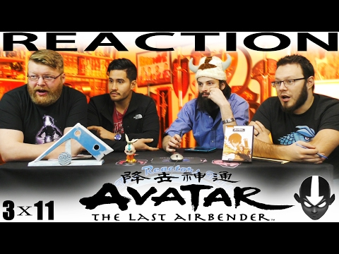 """Avatar: The Last Airbender REACTION!!! 3x11 """"Day of Black Sun, Part Two: The Eclipse"""""""