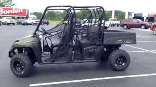 10. 2014 Polaris Ranger 570 Crew Green