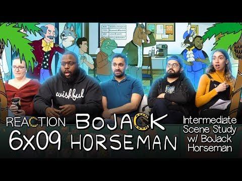 BoJack Horseman - 6x9 Intermediate Scene Study w/ BoJack Horseman - Group Reaction