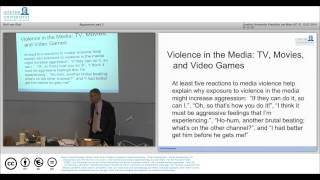 MOOC Social Psychology Lecture 11 Aggression Part 2