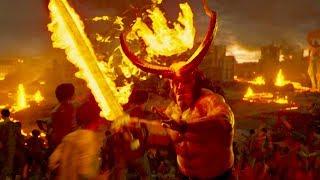 地獄生まれの赤いヒーローvs地獄の軍団とのバトルロイヤル開戦!/映画『ヘルボーイ』予告編