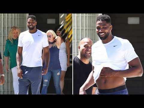 Moving Out Of Khloe's?! Tristan Thompson Goes House Hunting With Some Ladies In Calabasas
