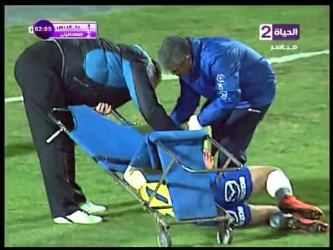 سقوط لاعب الاسماعيلي في لقطة طريفة