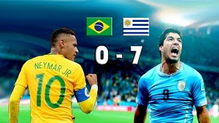 Video URUGUAY 7 vs BRASIL 0 - Eliminatorias Rusia 2018 - El pistolero ha vuelto - 23/03/2017 PARODIA MP3, 3GP, MP4, WEBM, AVI, FLV Oktober 2017
