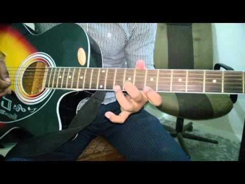 Aye Mere Humsafar| Unplugged |guitar Chords |acoustic|all Is Well ...