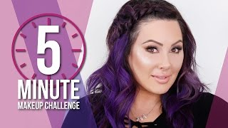 5 Minute Makeup Challenge | Makeup Geek by Makeup Geek