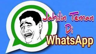 Video 3 Cara Ngejailin Teman Di Whatsapp MP3, 3GP, MP4, WEBM, AVI, FLV Juli 2018