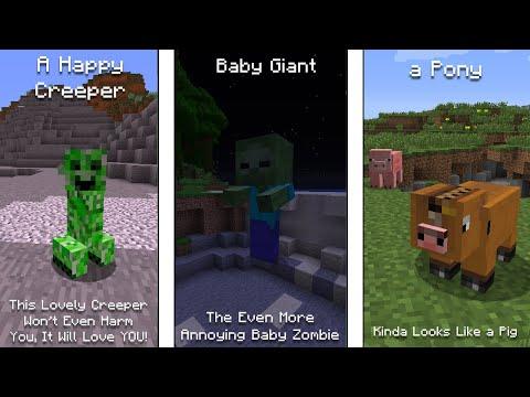 Minecraft Mobs And Their Rarest Variants