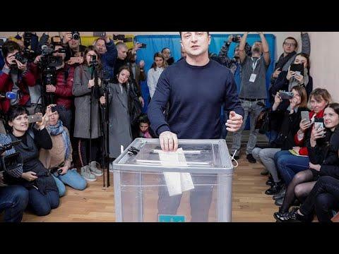 Ukraine: Politik-Neuling Selenski laut Prognosen be ...