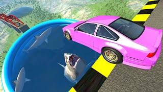 Video Beamng drive - Open Bridge Crashes over Pool of Hungry Sharks MP3, 3GP, MP4, WEBM, AVI, FLV September 2019