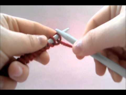 Aprende a tejer: montar puntos, punto del derecho y cerrar los puntos. DIY!
