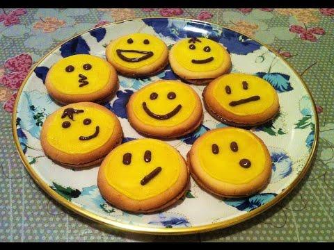 Печенье смайлики рецепт