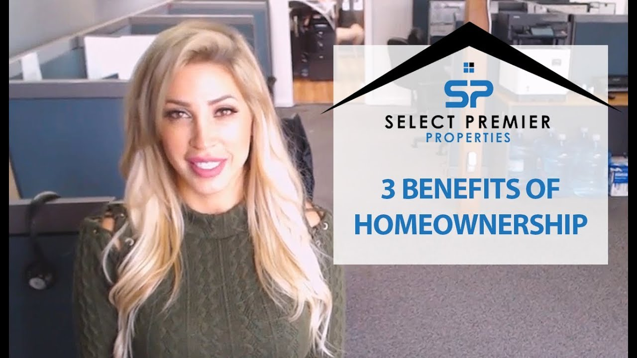 3 Key Benefits to Homeownership