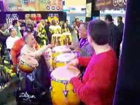Top Percussion @ The NAMM show 2007