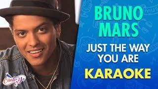 Video Bruno Mars - Just The Way You Are (Karaoke) | CantoYo download in MP3, 3GP, MP4, WEBM, AVI, FLV January 2017
