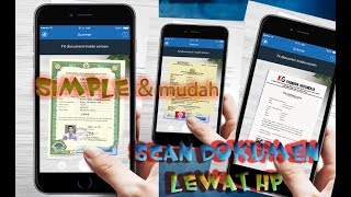cara scan document lewat hp android
