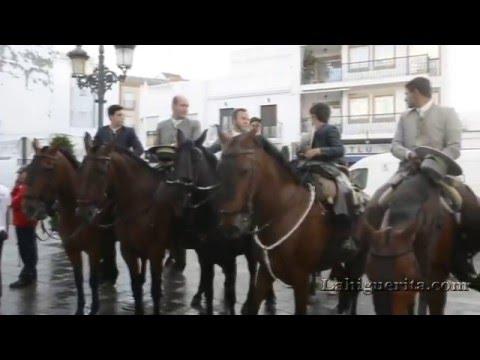 Salida de la Hermandad del Rocío de Isla Cristina 2016
