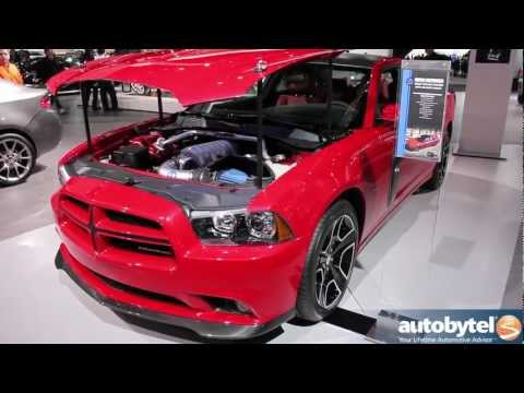 Mopar Redline Charger Concept at the 2012 Detroit Auto Show - Video