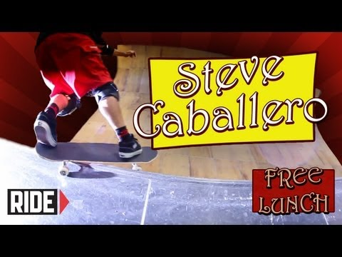 Steve Caballero Hazed Tony Hawk, Gets Hair Extensions, And More On Free Lunch!