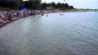 Southampton (ON) Canada  City new picture : Cardboard Boat Races Southampton, Saugeen Shores Ontario, Canada