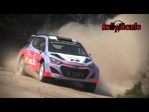 Test - Hyundai i20 WRC - Thierry Neuville - Viana do Castelo 2015 | Day 1 [HD]
