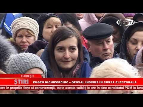 Eugen Nichiforciuc - oficial înscris în cursa electorală