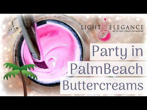 Gel nails - LIGHT ELEGANCE  PARTY IN PALM BEACH  HARD GEL