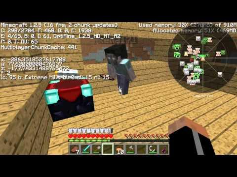 Minecraft Let's Play SUOMI - Pelailua Hungergames Serverillä