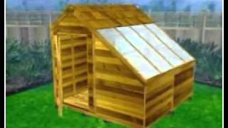 Cedar Sunhouse Shed Kit assembly animation