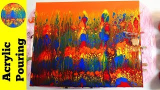 Blog at http://acrylicpouring.com or visit the Acrylic Pouring store at http://AcrylicPouringStore.com Who says you need white, black ...