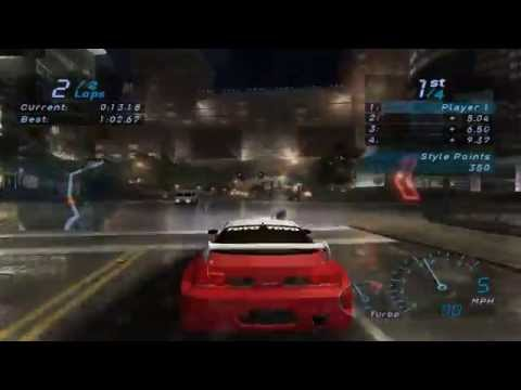 need for speed carbon gamecube gameplay