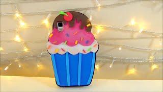 Manualidades faciles: forro de celular o movil en forma de cupcake con foami o goma eva | Isa ❤️ - YouTube