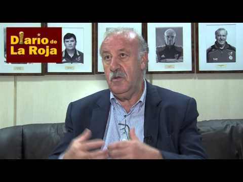 Entrevista a del Bosque en Diario de La Roja