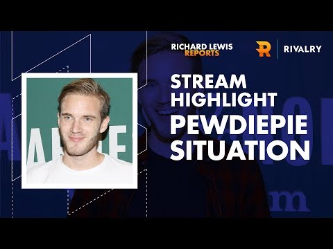 Stream Highlight: Pewdiepie's Latest Oopsie