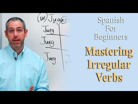 Mastering Irregular Verbs | Spanish For Beginners (ep.7)