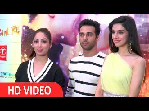 Divya Khosla, Yami Gautam And Pulkit Samrat At Success Party Of Film Sanam Re
