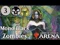 MTG Arena Beta | Mono Black Zombies Gameplay Se.2 Ep.3 [Events Suck]