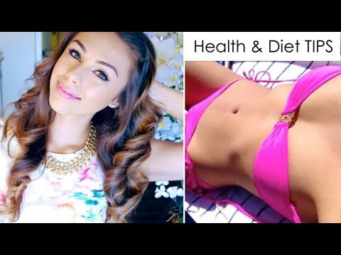 diet tips - Hi beautiful! Thanks for watching ♥ Thumbs up if you found this helpful! :) Think STRONG not skinny - you will get a lot further with a smart and healthy att...