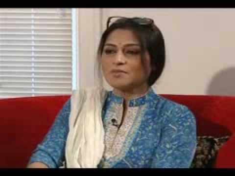 Actress Roopa Ganguly interwiew with VOA Hindi about her new Bangla film Piyalir password