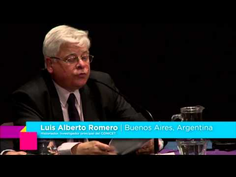 """Luis Alberto Romero """"Civilidad y urbanidad en la ciudad occidental"""" – 03/09/2013"""