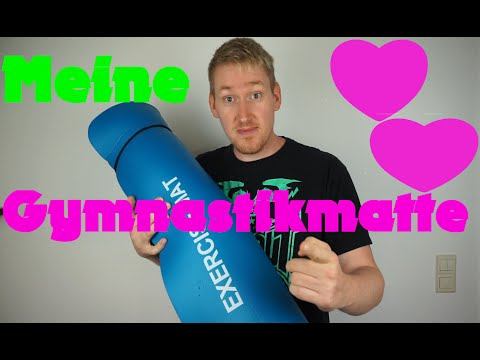 Sport zu Hause: Die Gymnastikmatte