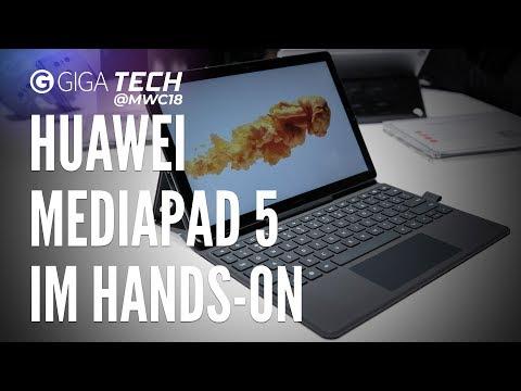 Huawei MediaPad M5 Pro, 8.4 und 10.8 im Hands-On (deutsch): iPad Pro im Visier - GIGA.DE