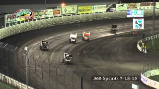 Knoxville 7-18-15  360 sprints